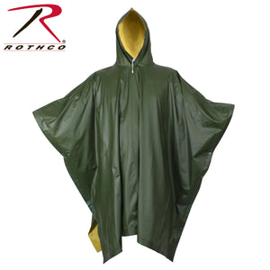 Open image in slideshow, Rothco Reversible Rubberized Poncho