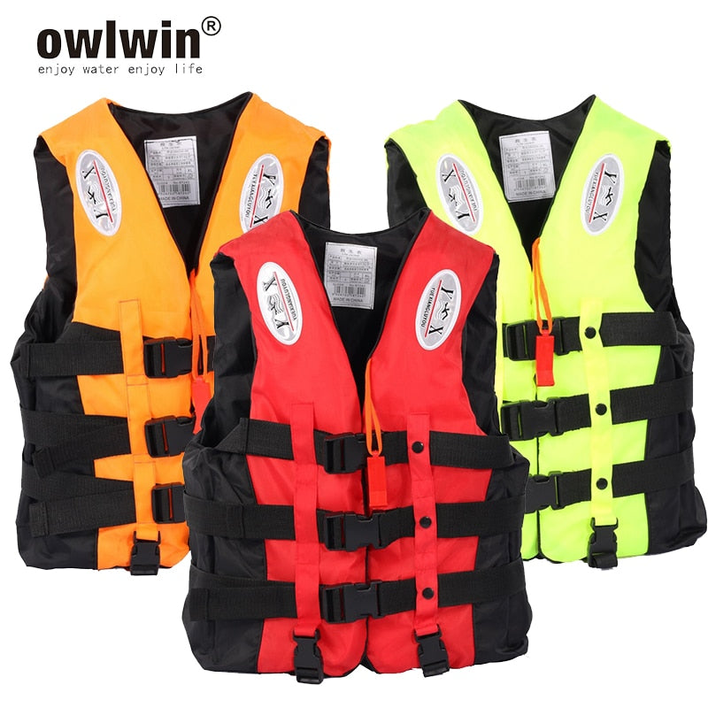 Owlwin Universal Survival Life Jacket for Adult and Children