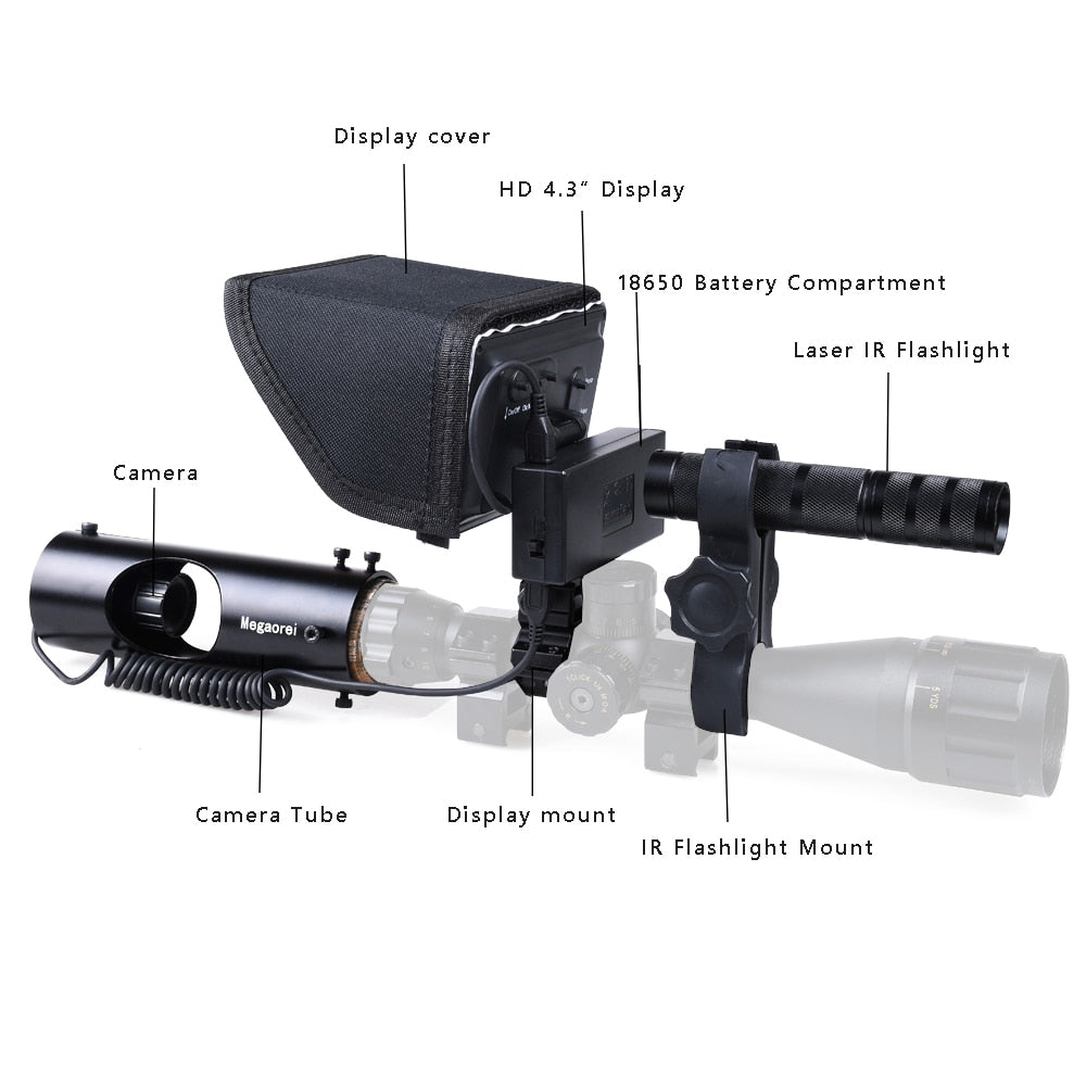 Infrared Night Vision Device with Video/Image Recording