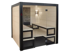 Image of Saunas Solide Indoor Sauna with Virta Heater