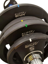 Load image into Gallery viewer, Apus Olympic Mercury Plate  55-200kg  + Olympic Bar DEAL - IRON-STRENGTH.CO.UK
