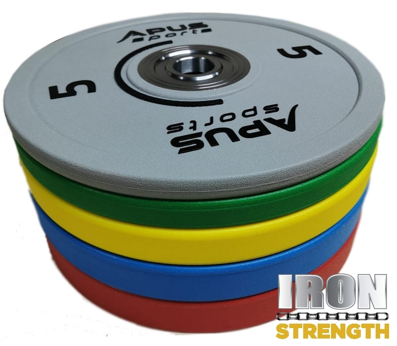 Apus Sports STRONG AND HEAVY COMPETITION BUMPER PLATES