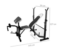 Load image into Gallery viewer, Training Bench + Scott Bench + Leg Curl