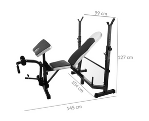Training Bench + Scott Bench + Leg Curl