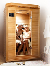 Load image into Gallery viewer, Grenada Infrared Sauna for 2 People