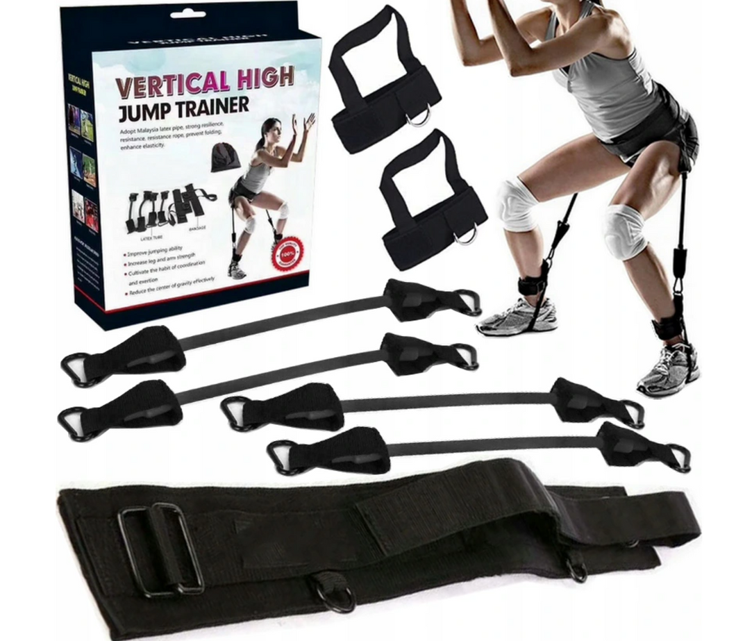 Resistance Band Set for Explosive Jumping and Leg strengthening Crossfit
