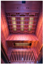 Load image into Gallery viewer, Apollon Quartz Infrared Sauna for 2 People