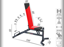 Load image into Gallery viewer, MAGNUS Training Utility Bench with Bevel Down MX2041