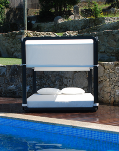 Ibiza Daybed Garden Bed