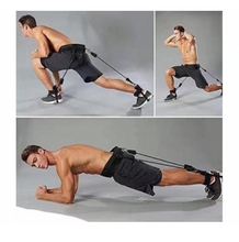 Load image into Gallery viewer, Resistance Band Set for Explosive Jumping and Leg strengthening Crossfit