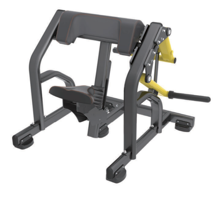 Concentrated Preacher Curl plate loaded machine