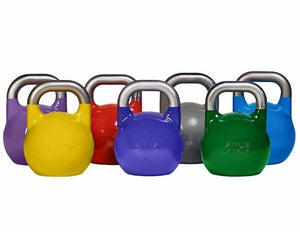 STEEL KETTLEBELL 8 TO 36KG - IRON-STRENGTH.CO.UK