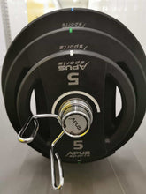 Load image into Gallery viewer, 160kg (6x5kg 2x15kg 2x10kg 4x20kg ) + Olympic Bar DEAL - IRON-STRENGTH.CO.UK