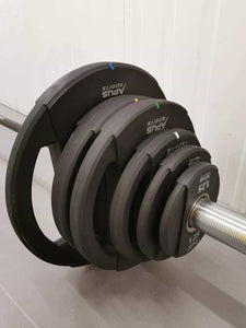 Apus Olympic Mercury Plate  55-200kg  + Olympic Bar DEAL - IRON-STRENGTH.CO.UK