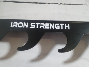 NEW Iron Strenth wall mounted bar hooks