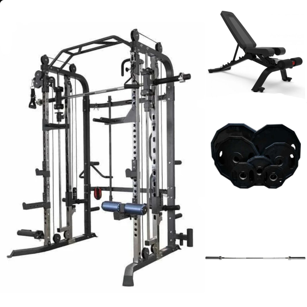 Commercial Smith, Bench, Plates and bar Bundle