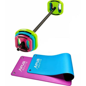 Apus Body Pump Space Bar Set  + Short Apus Mat