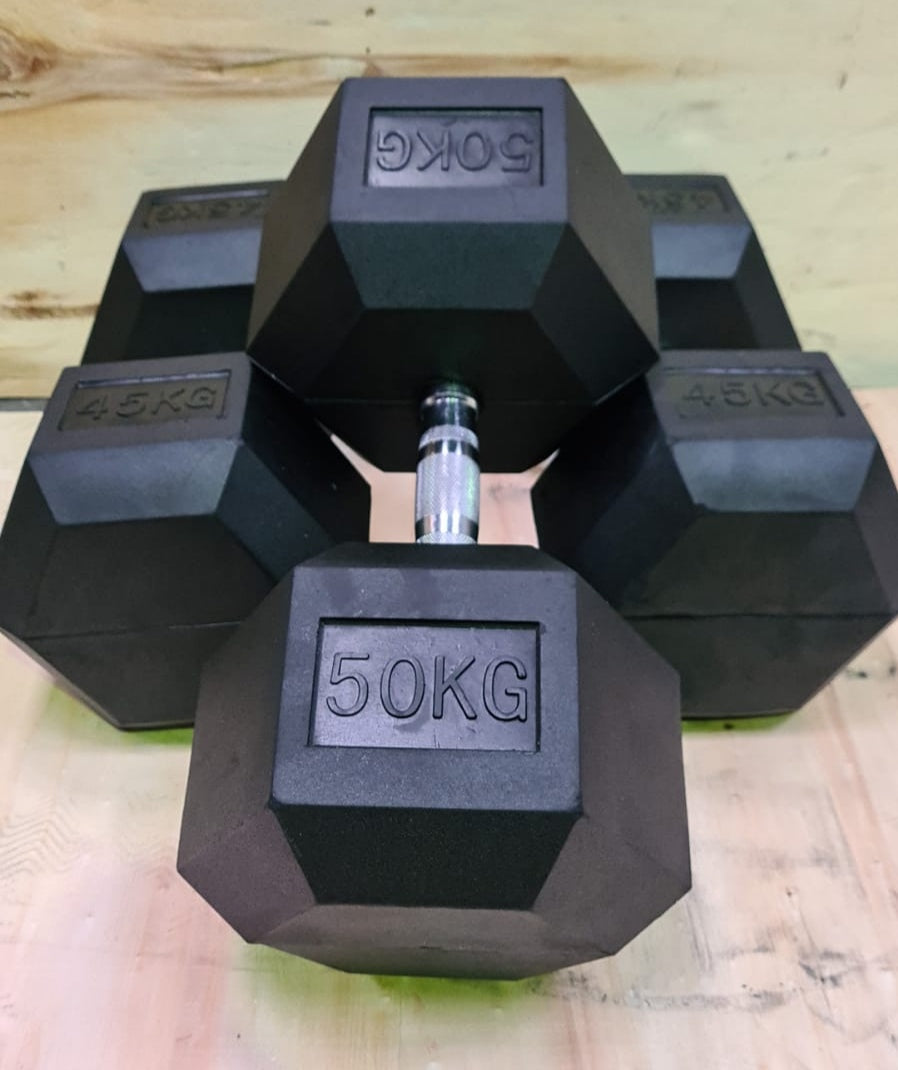 Hex Dumbbells Heavy Sets