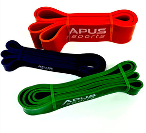 EXTRA STRONG Exercise RUBBER Resistance POWER BANDS