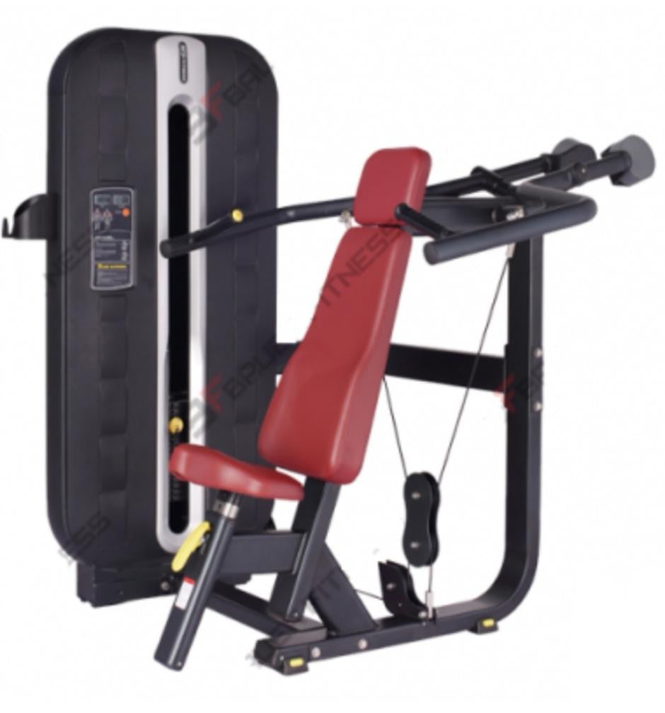 SEATED SHOULDER PRESS MACHINE - IRON-STRENGTH.CO.UK