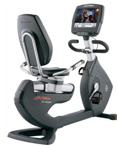 LIFE FITNESS 95R ENGAGE RECUMBENT BIKE USED