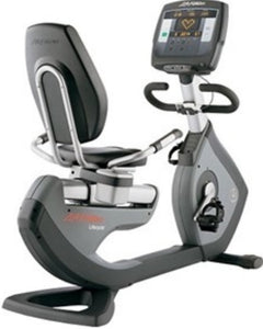 LIFE FITNESS 95R ACHIEVE RECUMBENT BIKE USED