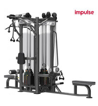 Load image into Gallery viewer, IMPULSE IT9327A 4 x STATIONS Multi Gym 5X125KG
