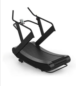 Curved Self Powered Treadmill