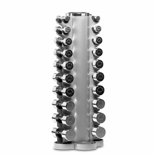 CHROME – COATED DUMBBELLS RACK - IRON-STRENGTH.CO.UK