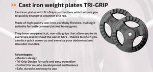 120kg DEAL 6X20KG STANDARD HOME PLATES  31mm - IRON-STRENGTH.CO.UK
