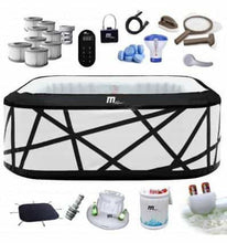 Load image into Gallery viewer, INFLATABLE SPA JACUZZI HOT TUB FOR 6 BIG, HEATED 40C - IRON-STRENGTH.CO.UK