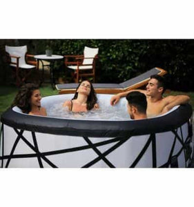 INFLATABLE SPA JACUZZI HOT TUB FOR 6 BIG, HEATED 40C - IRON-STRENGTH.CO.UK