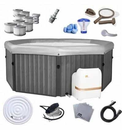 INFLATABLE SPA JACUZZI OZONE 6-PERSON HEATER 40C - IRON-STRENGTH.CO.UK