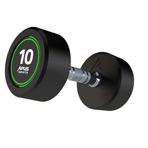 SINGLE PALLADIUM DUMBBELLS SELLECTION FROM 2.5 TO 50kg - IRON-STRENGTH.CO.UK
