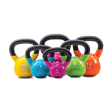 Load image into Gallery viewer, Apus Cast Iron with Vinyl Finish KETTLEBELLS deal 4kg TO 20KG DEAL