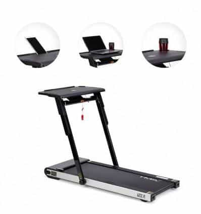 LOOP12 ELECTRIC TREADMILL WITH A DESK HMS - IRON-STRENGTH.CO.UK