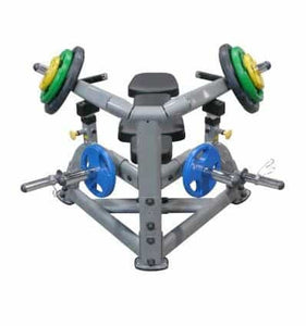 MACHINE FOR EXERCISING THE MUSCLES OF THE CHEST (SQUEEZING WHILE LYING DOWN) - IRON-STRENGTH.CO.UK