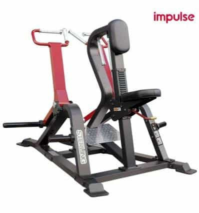 SL7007 PLATE LOADED ROW MACHINE - IRON-STRENGTH.CO.UK