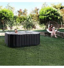 Load image into Gallery viewer, INFLATABLE JACUZZI HOT TUB SPA LARGE GARDEN SWIMMING POOL 6 PERSONS - IRON-STRENGTH.CO.UK