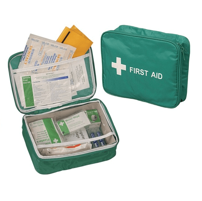 Vehicle First Aid Kit In Nylon Case (5558224715929)