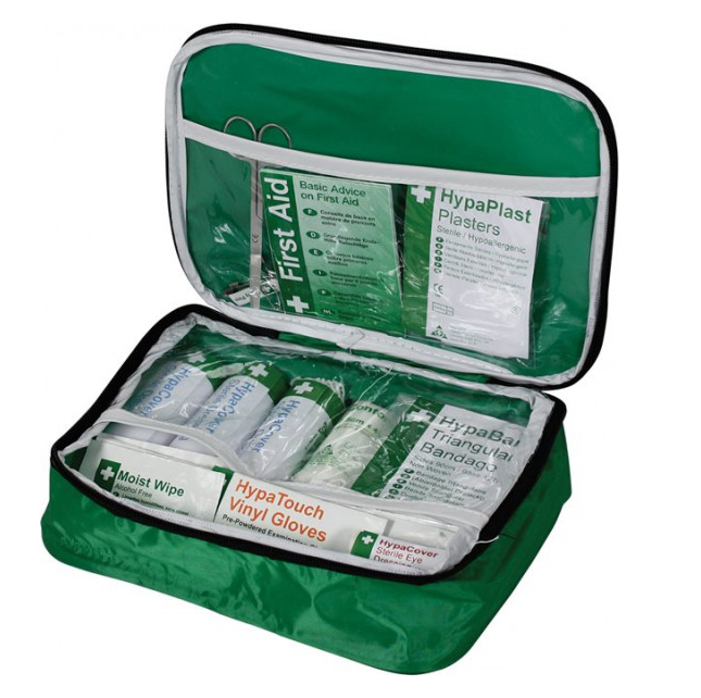 PCV First Aid Kit In Soft Case