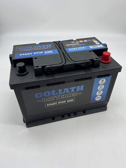 Goliath G096AGM 70Ah 760A Start Stop Battery - 3 Year Warranty