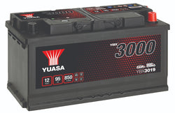 Yuasa YBX3019 SMF Battery - 4 Year Warranty