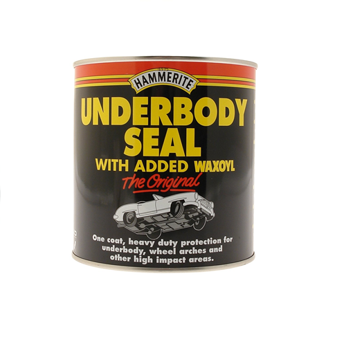 Hammerite Underbody Seal Rust Treatment with Waxoyl 1L Brush On