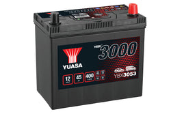Yuasa YBX3053 SMF Battery - 4 Year Warranty