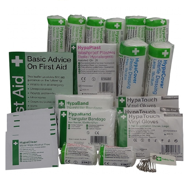 HSE First Aid Kit Refill