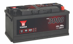Yuasa YBX3017 SMF Battery - 4 Year Warranty