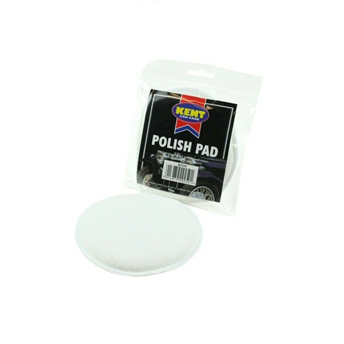 Kent Car Care Polish Buff Applicator Pad Valeting Cleaning (White)