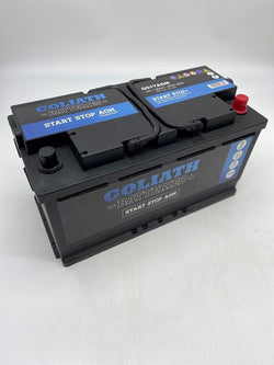 Goliath G017AGM 90Ah 850A Start Stop Battery - 3 Year Warranty