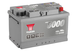 Yuasa YBX5100 Silver High Performance SMF Battery - 5 Year Warranty